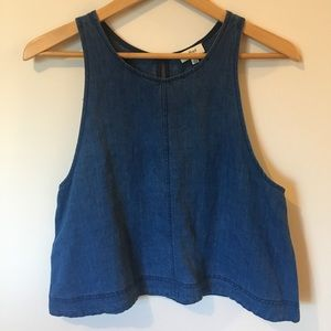 Wilfred | Sleeveless Shirt with Linen